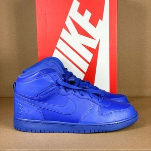 Nike High Men's Shoes in Royal Blue